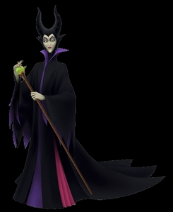 Malificent. I have NOT seen another 디즈니 villain turn up in SOOO many 책 and video games as much as she does. (oh, and I WILL give props to the person who can tell me where this came from)