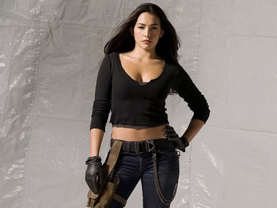 Probably for me it would be Natalie Martinez, she's stunning.