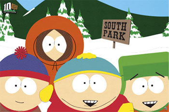 South Park. It's hilarious. Everyone I know hates it, so I don't think [i]anyone[/i] knows I watch it now and then. This is the first time I've actually admitted it.