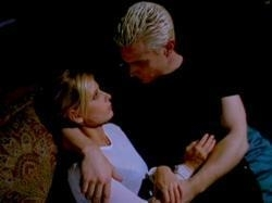 "Spike and Buffy ""100 plus years and there's only one thing i've ever been sure of: you"""