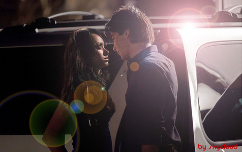 Damon and Bonnie <3