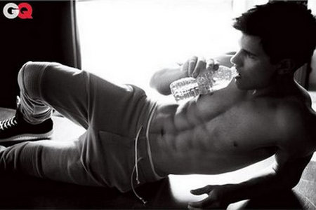 of course taylor lautner i mean just look at him
