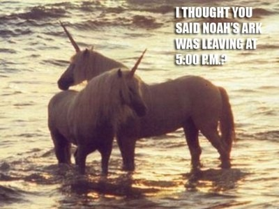We know what happened to the Unicorns...