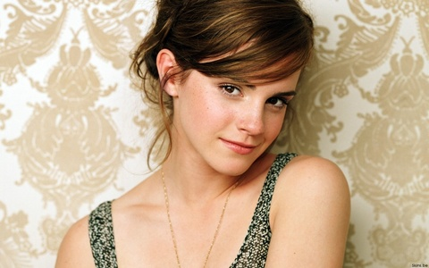 I would post a picture of fire, but that's already been done, so... Emma Watson! <3