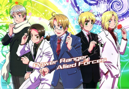 Sailor Moon, but my current Favorit is Axis Powers Hetalia.