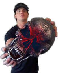 Zak Bagans from Ghost Adventures.
