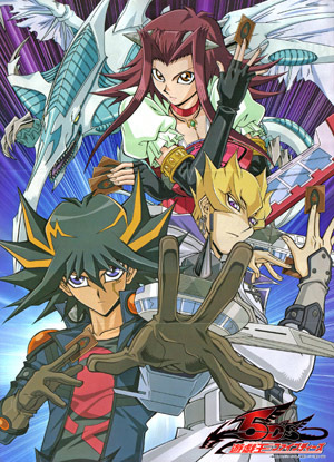Naruto, Sonic X, and Yugioh 5ds