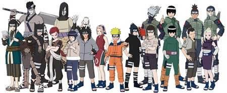 Naruto Naruto:Shippuden Sonic X Spongebob Squarepants Avatar: The Last Airbender Supernatural Two and a Half Men Yugioh Yugioh 5ds