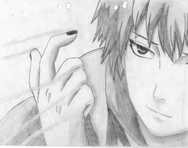 look at the pic and SEE,ill tell 당신 its sasori hes like MEE.