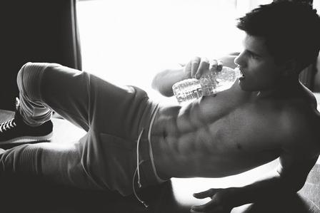Taylor Lautner I guess