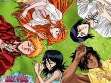 bleach. over 300 episodes and counting!!!!!