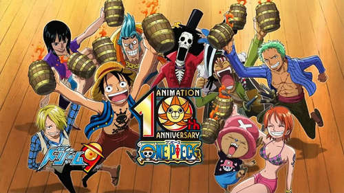 One Piece which is still ongoing. We are currently at episode 491