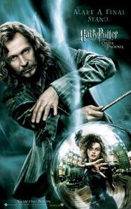 Death Eater: Bellatrix Lestrange Order of the Pheonix: Sirius Black