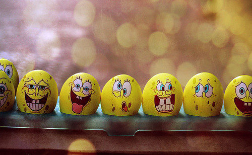 Spongebob eggs!