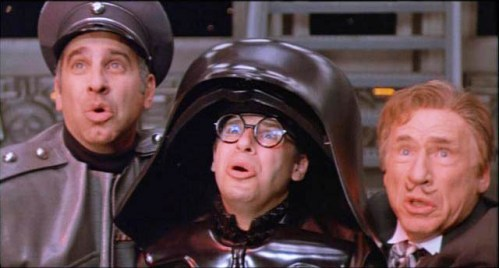Those dudes from Spaceballs. xD They were hilarious. o3o
