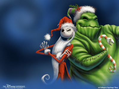 oogie boogie from nightmare b4 giáng sinh
