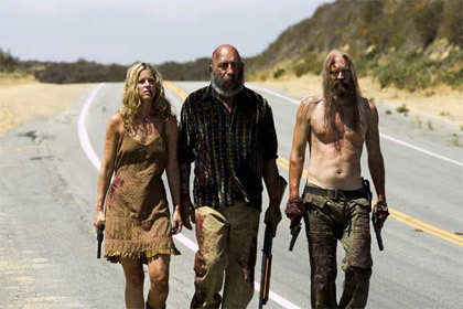 The Firefly family at the end of Devils Rejects. It almost had be in tears when they finally died XD