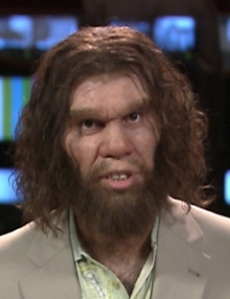The caveman hobo from outer space.