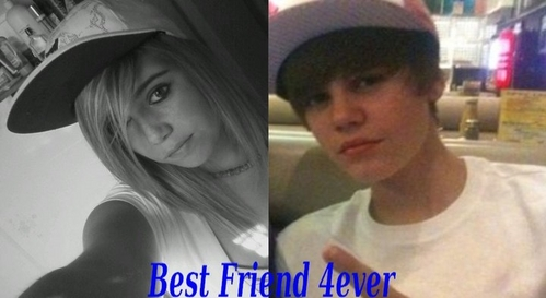 uhhm.. yes they did im best friends w/ her best friend taylor ashley parks & i dated justin so did jenna & taylor so yeahh(: & in this pic justin made b4 we dated this year on jan .11 2011