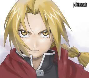 1. Sasuke Uchiha 2. Itachi Uchiha 3. Edward Elric 4. Roy 野马 5. Scar