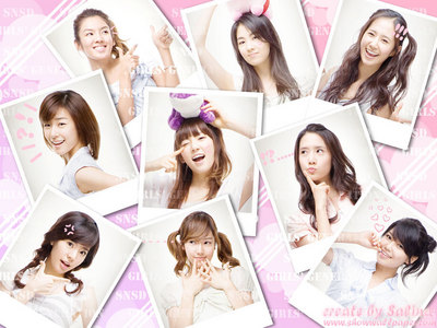 i change mine like once a week but right now its SNSD last week it was AMUTO