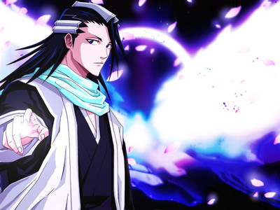 Mine দেওয়ালপত্র is Byakuya from Bleach