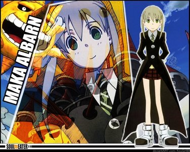 Maka from soul eater she is one of my favorito characters!