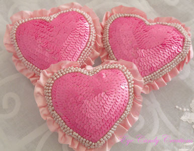 ❤❤Pink heart pillows❤❤