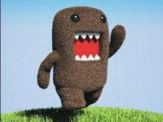 Well its DOMO-KUN!! <3 He's crazy and adorable. Just like me. o so I'm told all the damn time. I'm obsessed with all things Japanese so that explains a lot as well. ;]