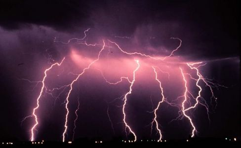 lightning, bright, powerful, often beautiful, always dangerous