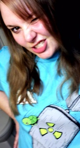 Mine is very Boring... Not the best picture example that I could mostrar tu but I amor this shirt. lmao. shimmycocopuffsss