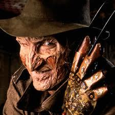 Freddy Kruger,he's my favorite. look at this pic,isn't he beautiful?
