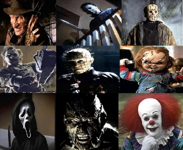 My favorito! is Chucky,but I like Jason,Freddy,and Ghostface too.