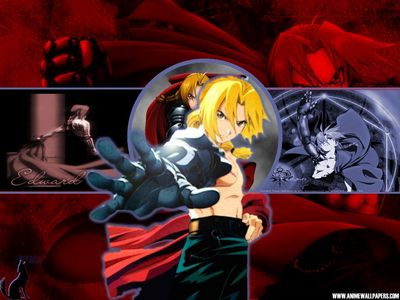 It HAS to be Full metal Alchemist!