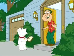 I'd Really Don't Know Why He Hate Brian.Brian is my Man Or Dog I Should Say LOL.And I watched Family Guy New Ep Last Night At the End They were Almost Gonna Made Up When Quagmire Drove Off And Ran over Brian Lol That's My Fact Of Them Two=)