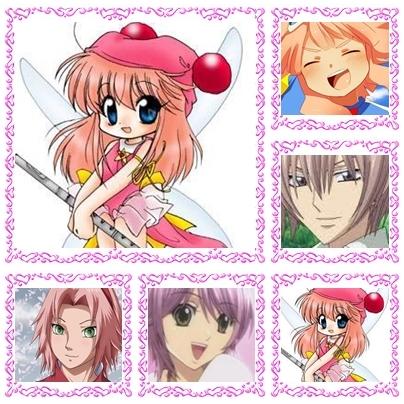 Saori Eguchi Tsunami Jouske Sakura Haruno Sakura (Special a i dunno her last name) Saiga Yahiro