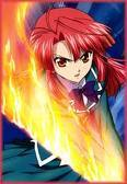 ayano kannagi from Kaze No Stigma shes my fav redhead