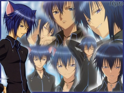 of course not =D I'm like in pag-ibig with Ikuto >W< **FANGIRL GLOMP**he's my kitty cat ;3 smexii cat boy X3