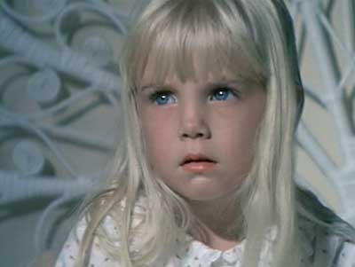 Heather O'Rourke. The poor girl died when she was 12. She was Carol Anne in all three Poltergeist movies. She was even on Happy Days. I'm naming one of my kids after her. :) Heather in the first Poltergeist.