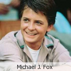 "My Favorit celebrity is Michael J. Fox. He is inspiring to me. He's not a ""womanizer"" like a lot of Berühmtheiten are. He's been married for 23 years to the same woman, and they have 4 children. I've grown up watching his TV shows, and movies. He will always be number 1 in my book. No other celebrity is as inspirational as him."
