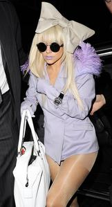 Lady Gaga :) Probably the biggest popstar of now.