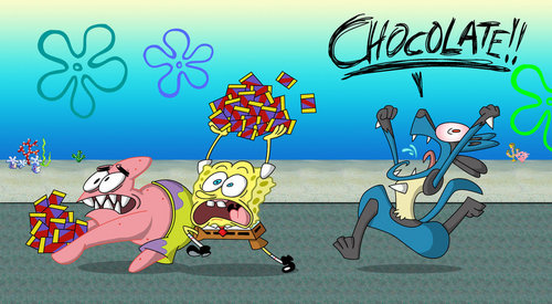EAT ALOT OF CHOCOLATE!!!!!!!!!!!