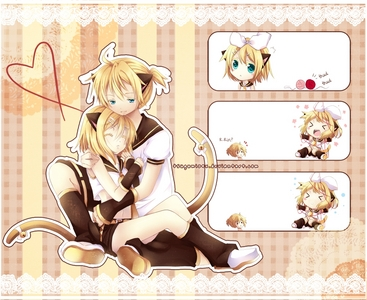 Rin and Len~ :D