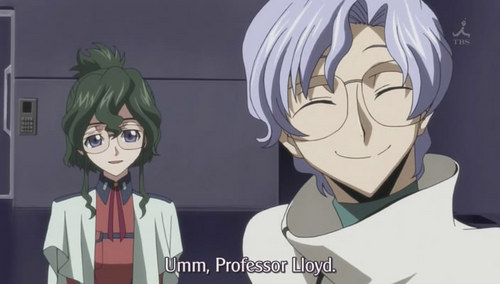 mine is lloyd from code geass.. ^.^ hura!!! xD *the one with purple hair.. i dont like nina (the one with оливковый, оливковое green hair) XD but they both wear glasses.. ^.^