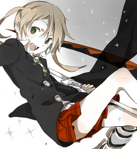 I don't know lol, probley Maka from Soul-Eater because she is my favoriete girl character in Soul-Eater!