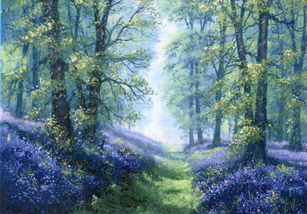 What a lovely pregunta Sunny :) I amor rosas and they are my fav flowers,but i have always been drawn to pretty bluebells....they are quietly beautiful growing wild and free bringing stunning colour into our lives <3
