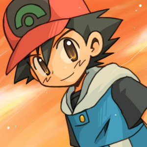 ASH! He is Cute! and he loves pokemon and treats them nicely. So Ash definetly!!!