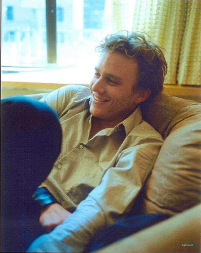 Acting. ...and Heath Ledger<3