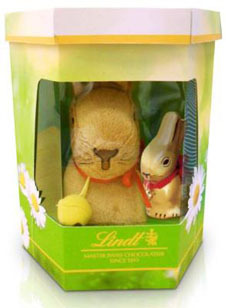 I got a Lindt Gold Bunny :D And I watched that movie yesterday.