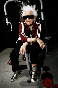 My grandma is a Rockstar and goes to the GYM. She is not exactly the stereo-type.
